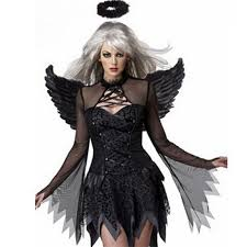 Supernatural Halloween Costumes Aliexpress Buy Nattens Engel Dark Angel Wings