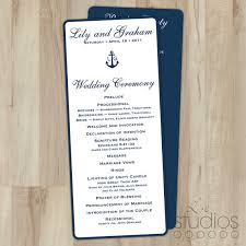Flat Wedding Programs 28 Flat Wedding Programs Wedding Programs Flat Double Sided
