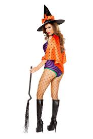 purple black orange 3 pc sweet witch costume