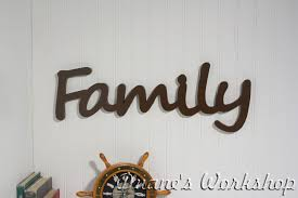 family wood 8 family signwall hanging wooden family sign wooden