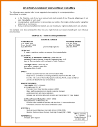 resume objective exles for service crew write resume objective for students how a career on sle