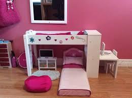 indulging bunk beds along with desks underh plus girls bedroom
