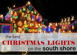 where to find the best light displays on the south shore