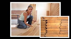 How To Install Click Laminate Flooring Installing Laminate Wood Floors Youtube