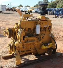 caterpillar 3306 six cylinder turbo diesel engine item bu9