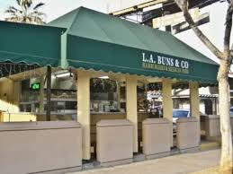 Bcf Awning La Buns U0026 Co American Mexican Restaurant In West Hollywood
