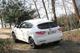 white maserati rear 2017 maserati levante first drive review