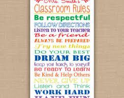 printable instructions classroom classroom decor rainbow classroom rules sign classroom
