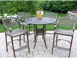 Bar Height Patio Dining Set Awesome Bar Height Patio Ideas Ht Patio Table Patio Bar Height