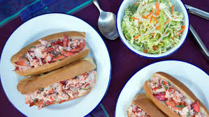 lobster rolls with cumin lime slaw today com