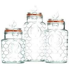 clear glass kitchen canister sets glass kitchen canister sets decorating clear