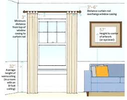 Installing Curtain Rod Hanging Curtain Rods Interiors Hang Curtain Rod From Drop Ceiling