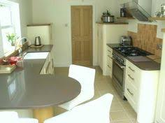 Galley Style Kitchen Designs Looks Pretty Similar To What Our Peninsula Could Be With Part
