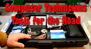 Laptop Repair Technician Computer Technicians Tools For The Road Youtube