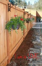 Landscaping Ideas For Backyards On A Budget by Best 25 Privacy Fence Landscaping Ideas On Pinterest Fence