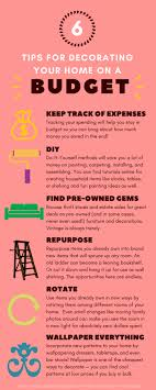 tips to decorate home tips for decorating your home on a budget