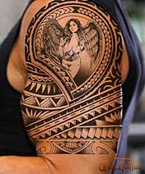 pacific island tattoos moko style and hawaiian tattoos tattoo