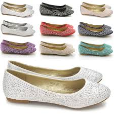 wedding shoes essex new womens brial diamante sparkly slip on bridesmaid shoes