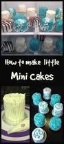 how to make mini cakes cake decorating pinterest mini cakes