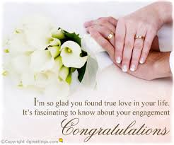 engagement congratulations card congratulation engagement wishes engagement congratulations card