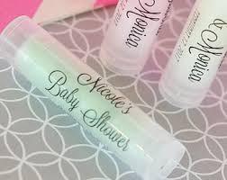 lip balm favors personalized chapstick bridal shower lip balm favors