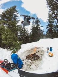volcano season a spring of snowboarding by colton jacobs moment