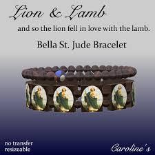 st jude bracelet lion st jude bracelet caroline apollo flickr