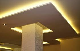 Drop Ceiling Styles by 7 False Ceiling Designs With Ceiling Lighting For Small Rooms