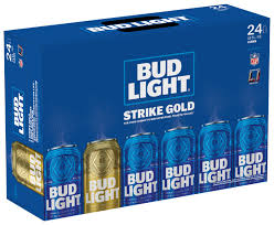 bud light beer box hat bud light golden can get super bowl tickets for life fortune