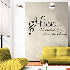 search on aliexpress com by image personalized fashion wordart sentence music dance studio wall decals living room bedroom removable wall stickers murals