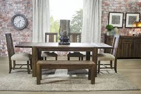 dining room set with bench the meadow upholstered dining room collection mor
