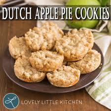 lovely little kitchen recipe dutch applie pie cookies lpc survival
