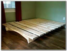 pretty diy platform bed frame with trundle beds home furniture