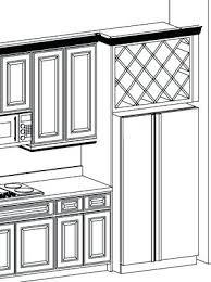 wine rack above refrigerator u2013 abce us
