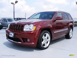 2007 red rock crystal pearl jeep grand cherokee srt8 4x4 35055148