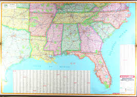Study United States Map by Map Of Southern United States