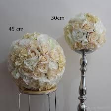 ems wedding decoration 30cm rose peony hydrangea wedding silk