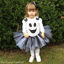 fluffy halloween costumes diy ghost tutu halloween costume the casual craftlete a