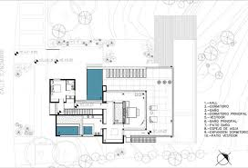 Home Design Plan View Stunning Modern Aqua House In Argentina Second Floor Plan View