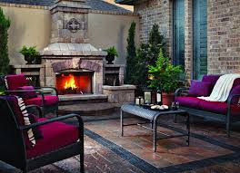 Belgard Brighton Fireplace by Using Walls To Create Intimacy Outdoor Living By Belgard
