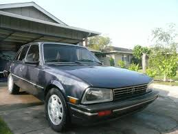 peugeot 505 1987 peugeot 505 stx front view members albums category