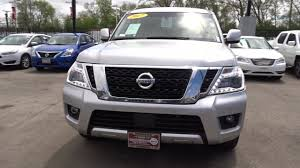 nissan armada 2017 gas mileage used one owner 2017 nissan armada sv chicago il western ave nissan