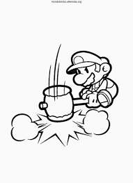 paper mario colouring pages 1 super paper mario coloring pages