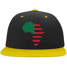 Black Flag Hat Africa Rbg Flag Black Flat Bill High Profile Snapback Hat U2013 Legit