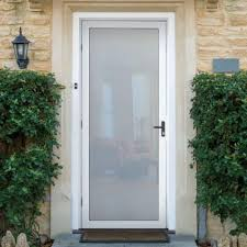 Unique Front Doors Unique Home Designs 36 In X 80 In White Surface Mount Outswing