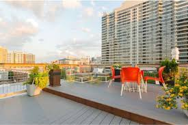 how much for a 1br art museum condo with an epic roof deck