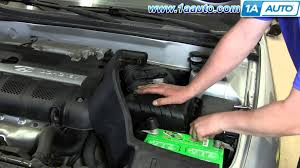 2004 hyundai sonata fuel filter how to install replace engine air filter hyundai elantra 2001 06