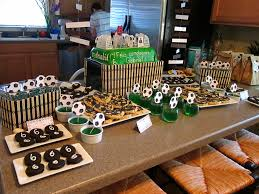 interior design best soccer themed birthday party decorations