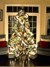 patriotic red white blue christmas ideas christmas tree and