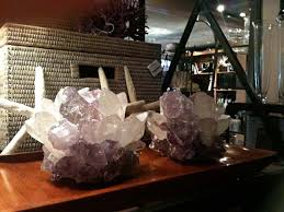 Trends In Home Decor Guartz Geode U0026 Crystal In Home Decor Hvh Interiors